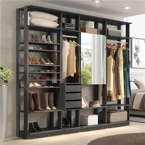 modelos de closet de madeira pronto
