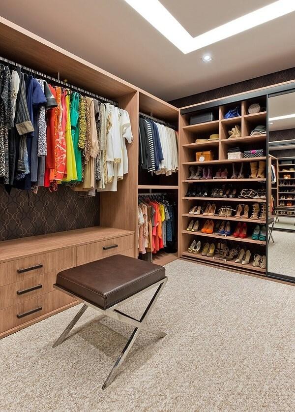 modelos de closet grande