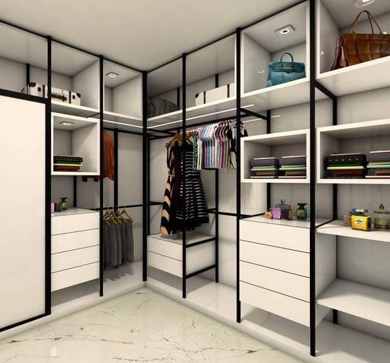 modelos de closet planejado