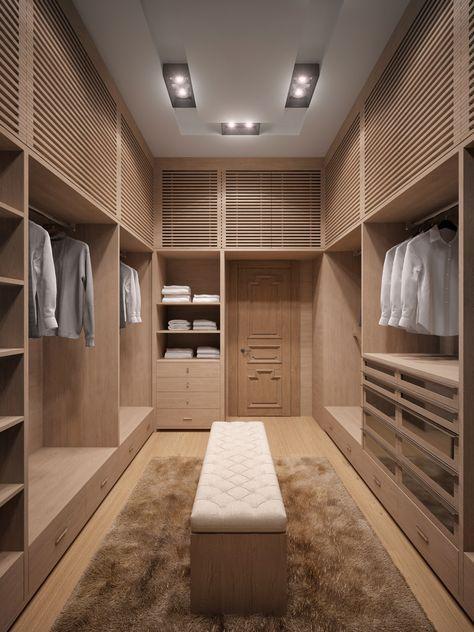 modelos de closet planejado com maleiro