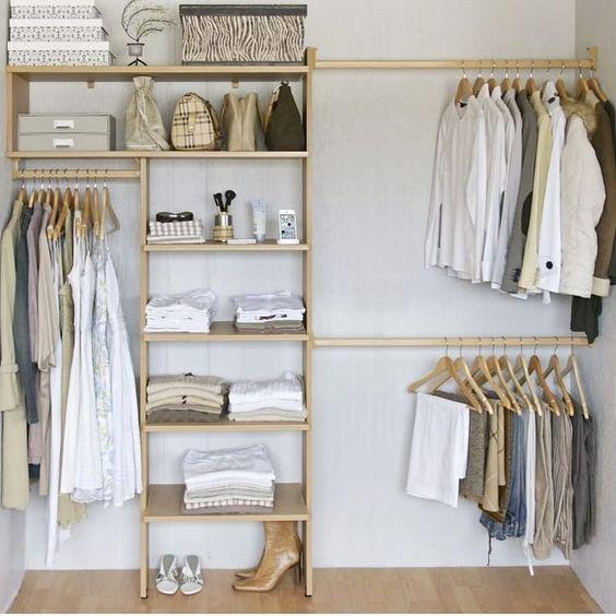 modelos de closet simples