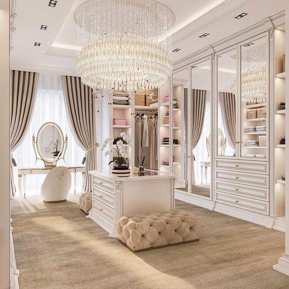 modelos de closet clássico grande