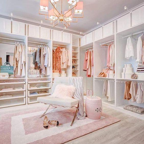 closet feminino grande