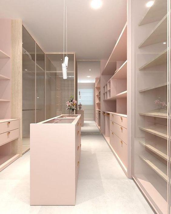closet planejado grande moderno