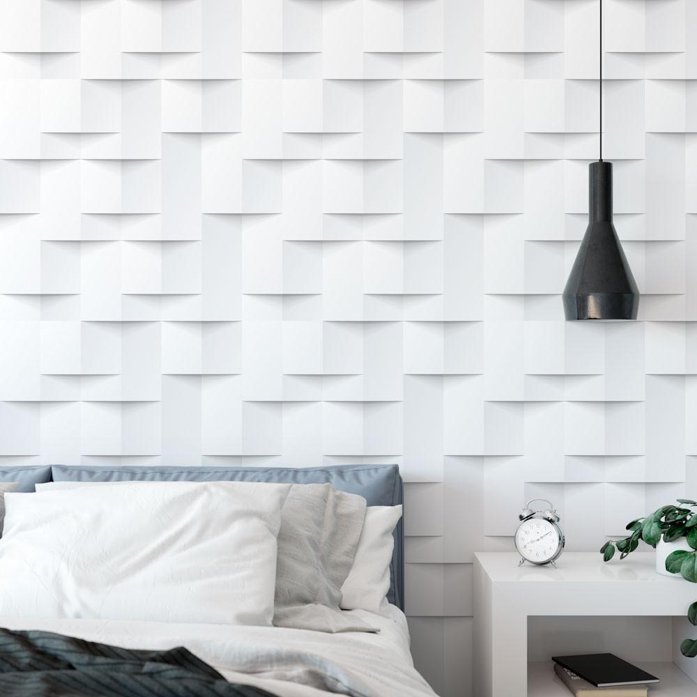 Como colocar papel de parede 3D