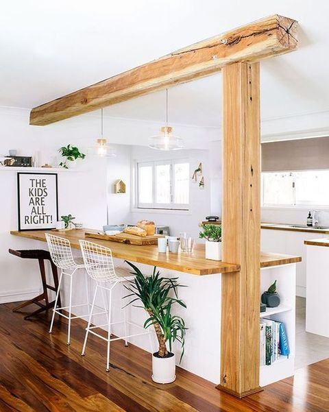 cozinha americana rustica pequena