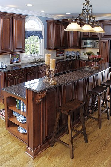 cozinha americana rustica tradicional