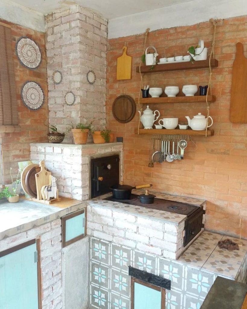 forno e fogão a lenha