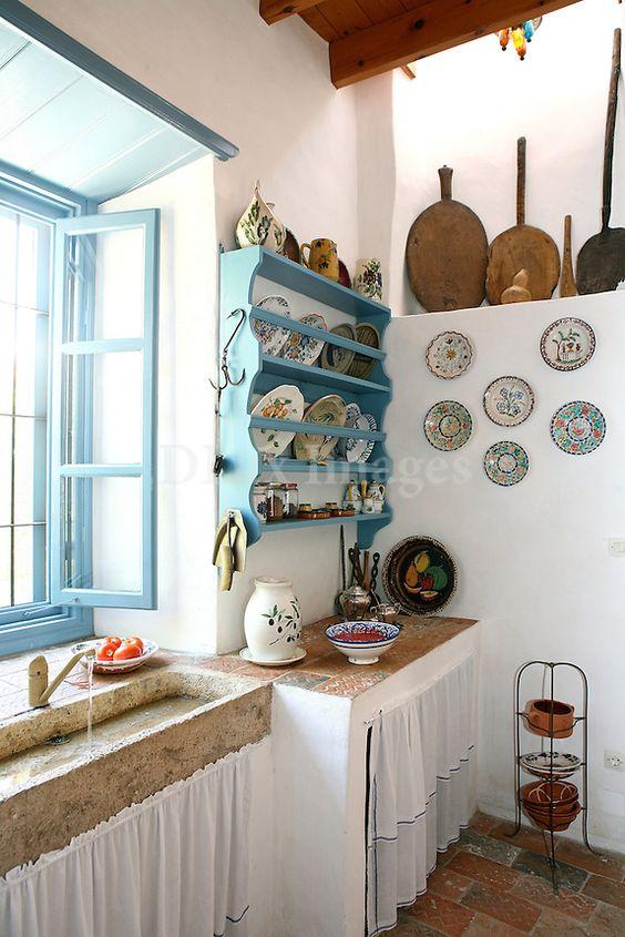 porta pratos azul