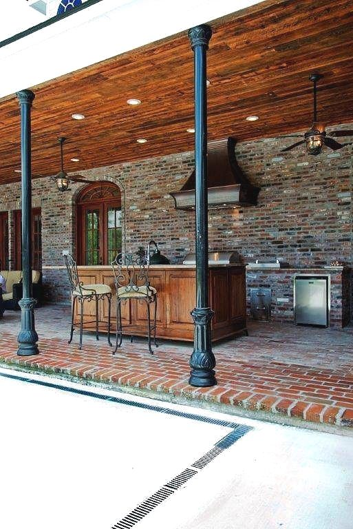 cozinha externa rústica com pedras