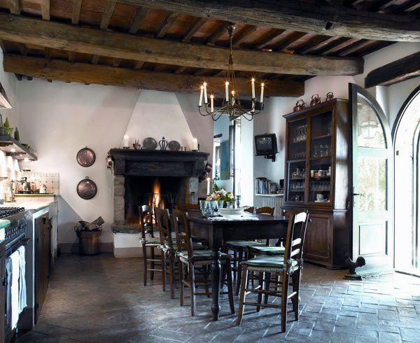cozinha rústica clássica
