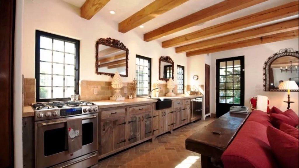 cozinha rústica moderna integrada