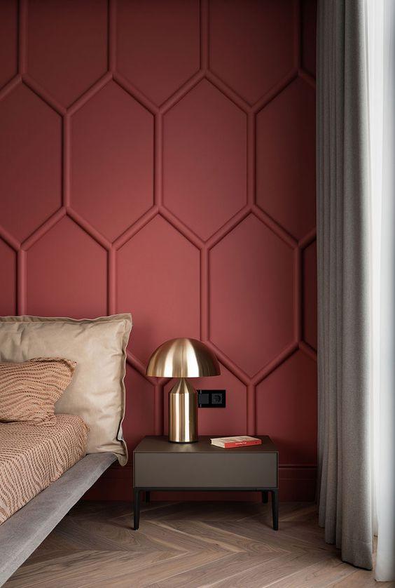 paredes com texturas em madeira
