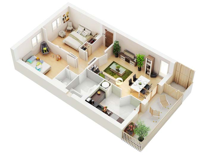 projeto de casa com varanda