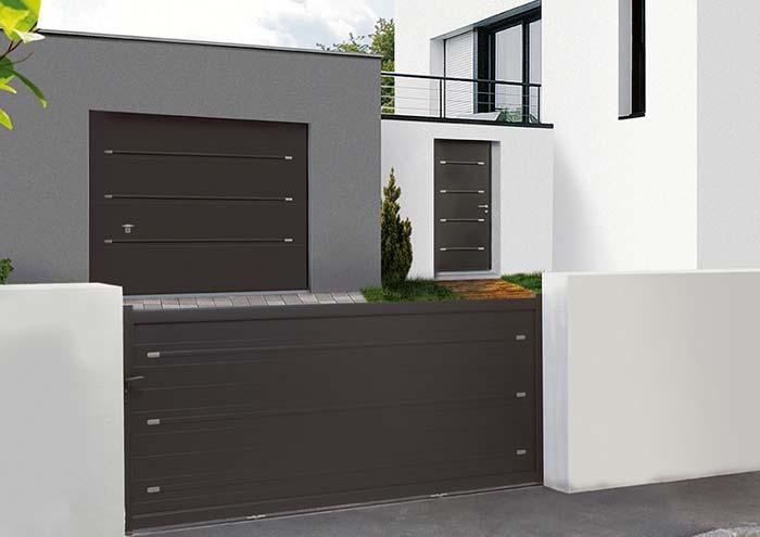 fachada moderna e minimalista
