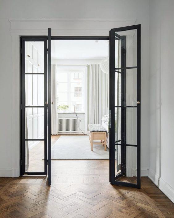 modelos de portas articuladas internas