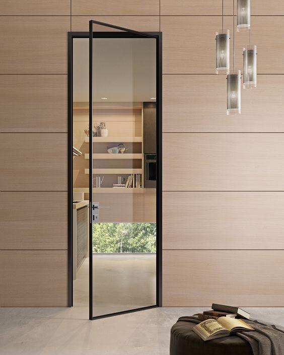 modelos de portas minimalistas