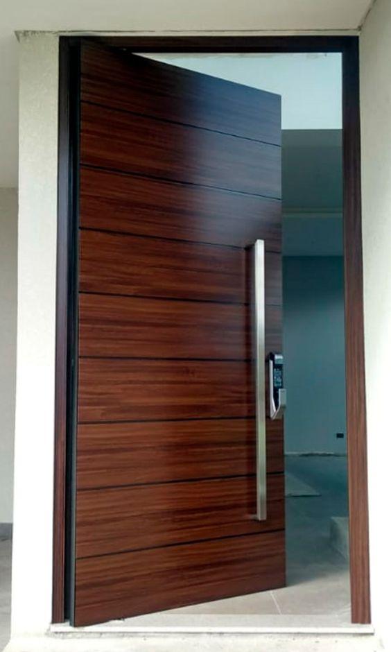 modelos de portas de madeira maciça