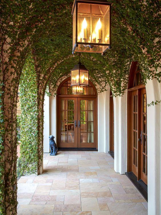 portas arredondadas