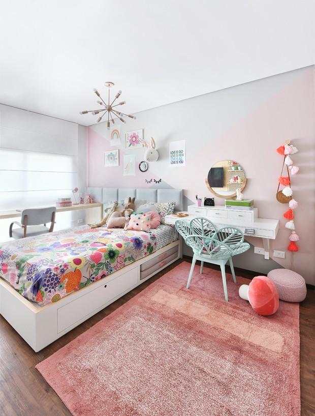ambiente colorido para menina