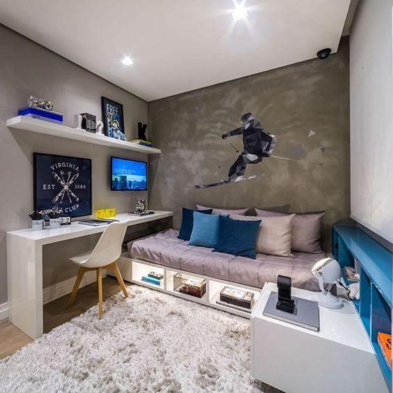 quarto pequeno planejado
