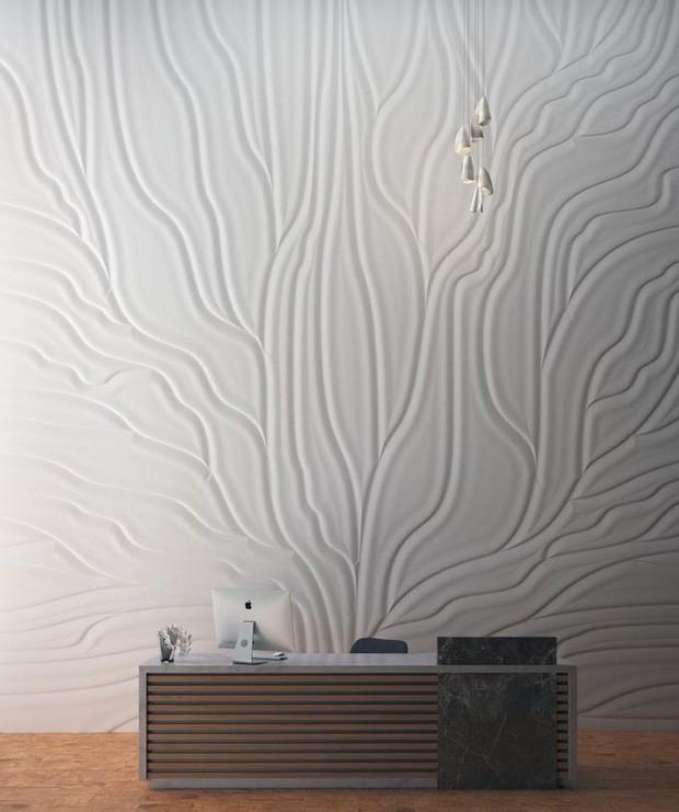 paredes com texturas com gesso
