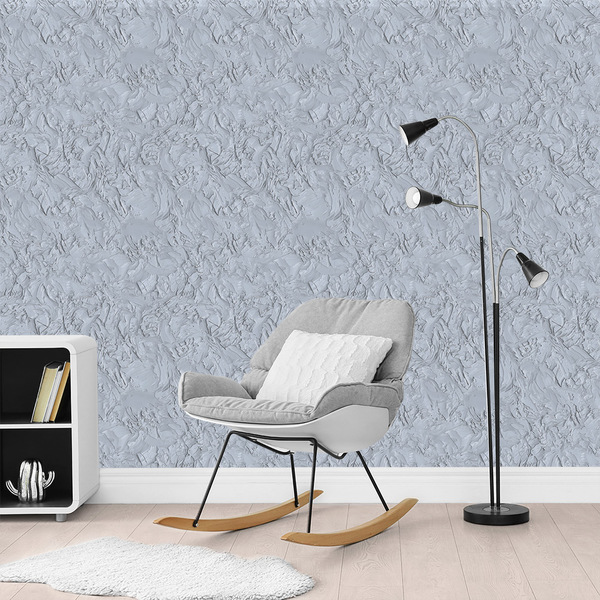 paredes com textura cinza