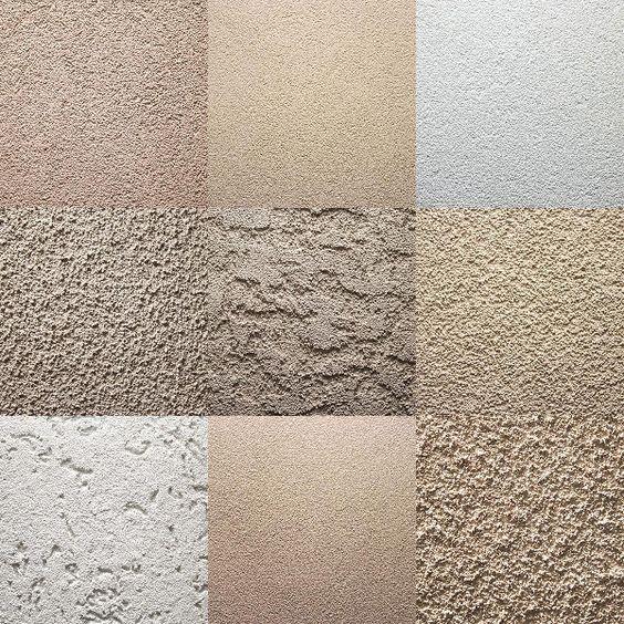 estilos de texturas para paredes