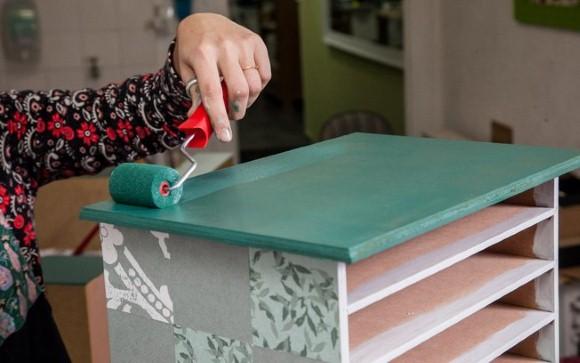 Como pintar MDF: móveis.