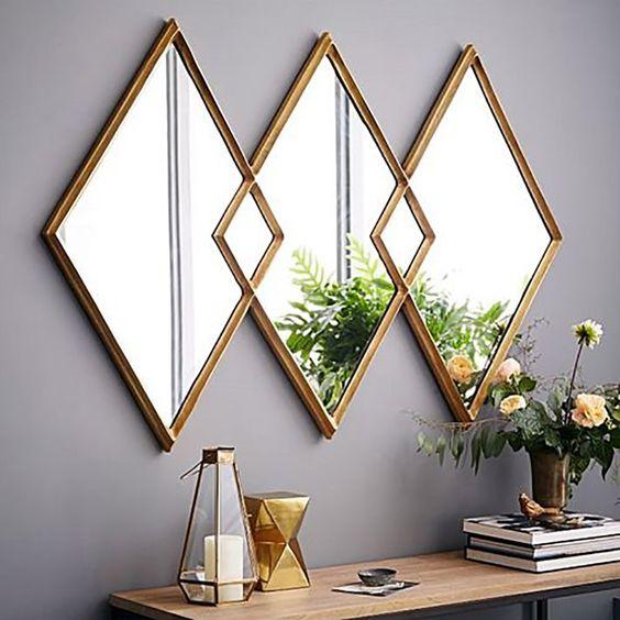 Epelho com ilusão de ótica.