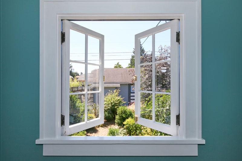 Modelos de janelas de abrir para fora.