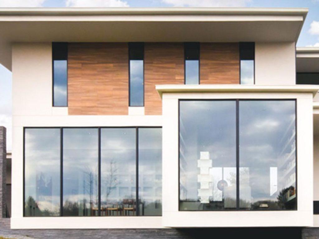 Modelos de janelas fixas grandes.