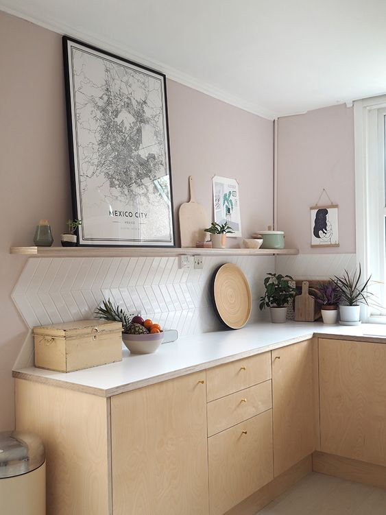 Cores de tintas para cozinha minimalista.