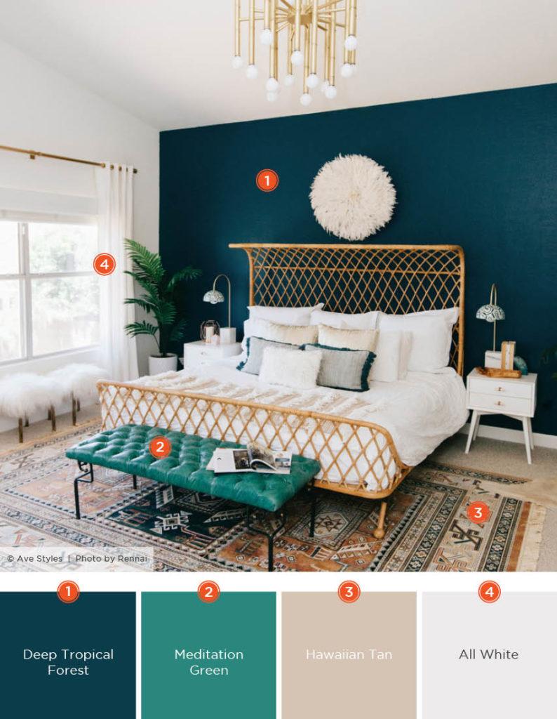 Cores de tintas para quarto de casal tumblr.
