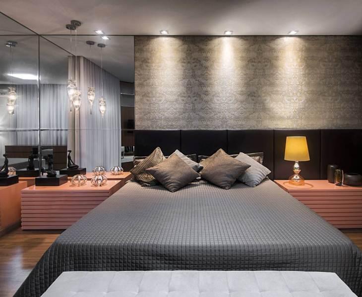 Papel de parede para quarto luxuoso.