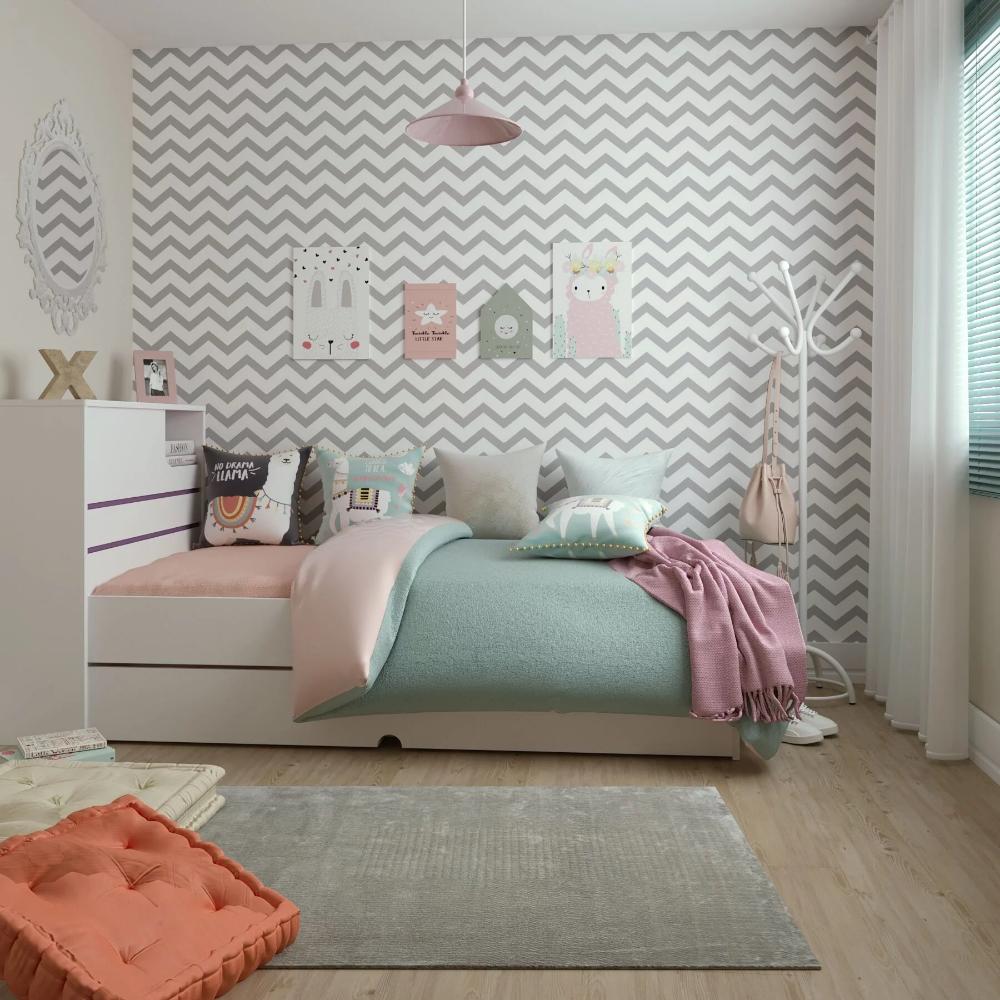 Papel de parede para quarto de menina.