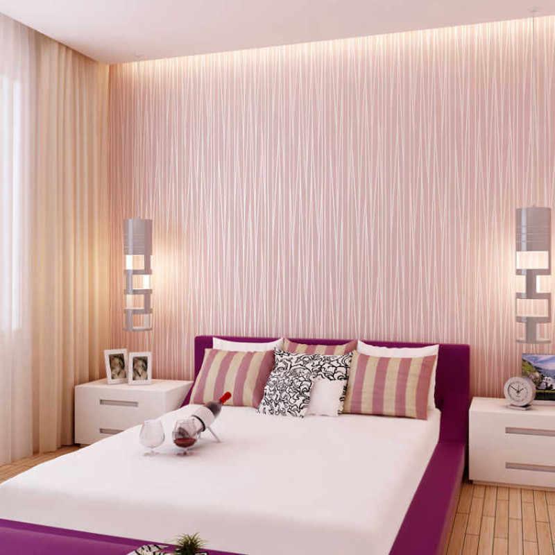 Papel de parede para quarto rosa.