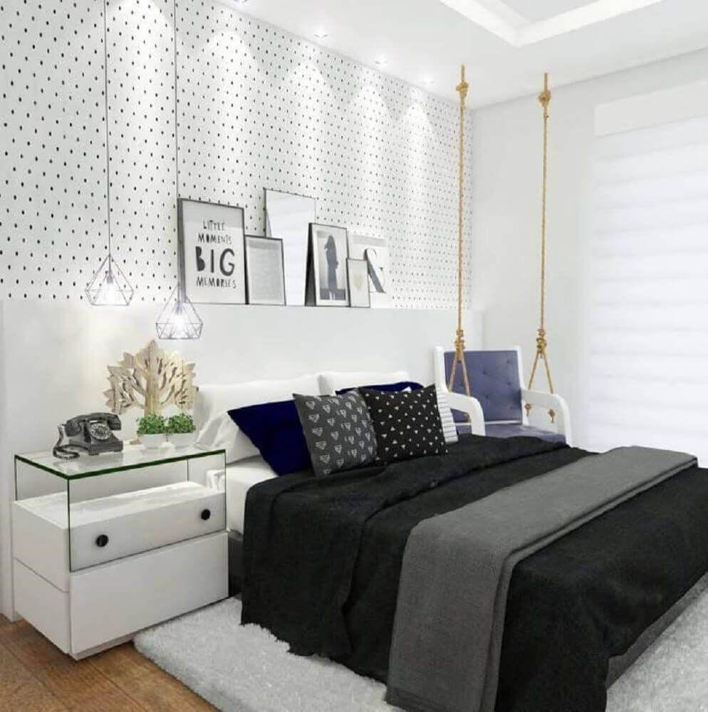Papel de parede para quarto branco tumblr.