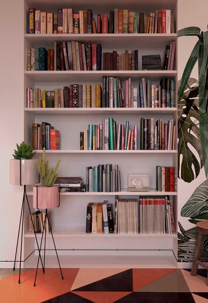 Biblioteca pessoal.