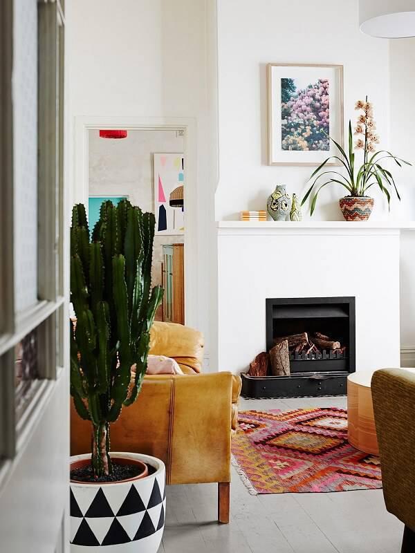 Sala com decoração pinterest.