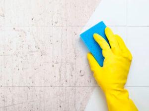 Como limpar azulejo de banheiro