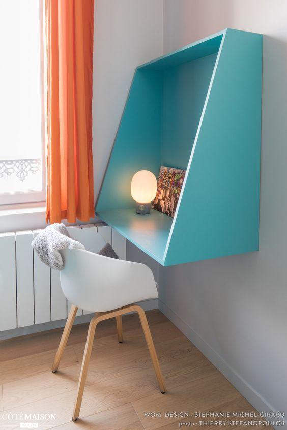 escrivaninha em quarto