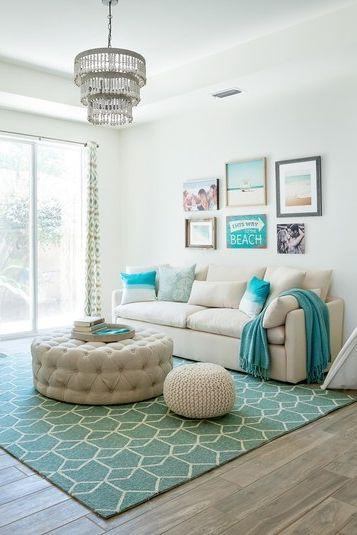 tapete azul turquesa