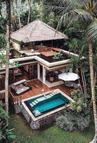 casa dos sonhos com deck de madeira