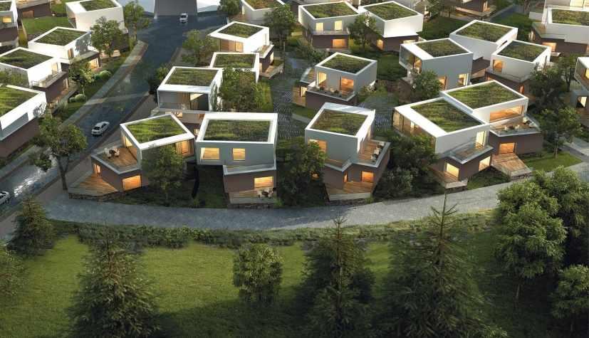 condomínio residencial ecológico com ecoteto