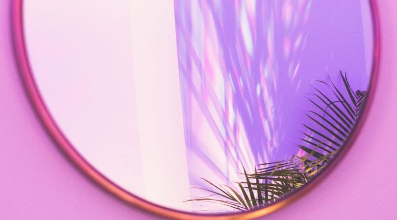 espelho feng shui decoração