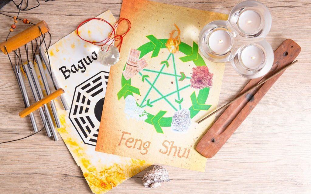 elementos que representam a filosofia chinesa
