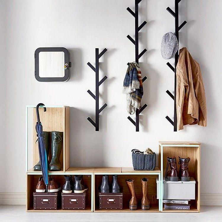 como organizar a casa em hall de entrada otimizado para guardar sapatos e casacos