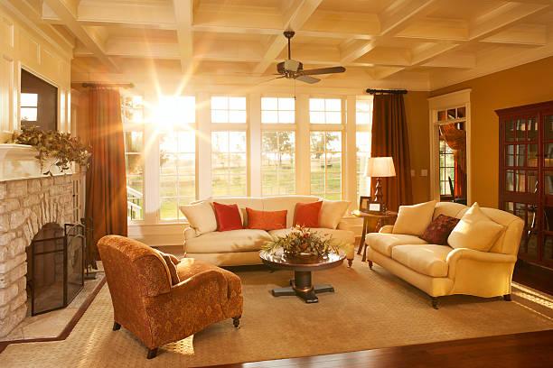 iluminação natural na sala de estar
