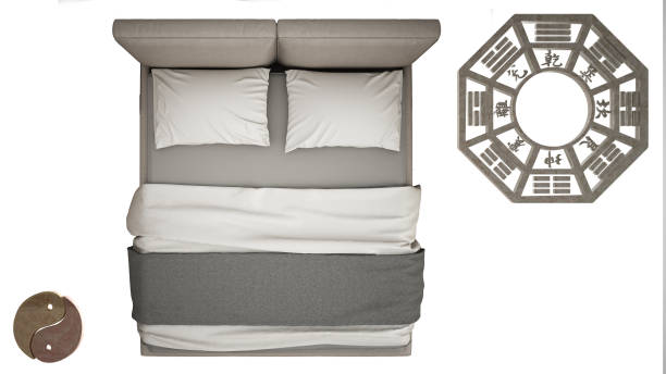 imagem ilustrativa da cama posicionada ao lado do baguá